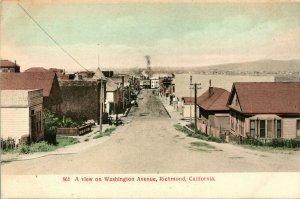 Vtg 1900-10 Postcard E St. View From Elevator - Gulfport, Mississippi .