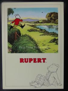 Rupert Bear RUPERTS AUTUMN ADVENTURE c1992 by Reflex Marketing PC766