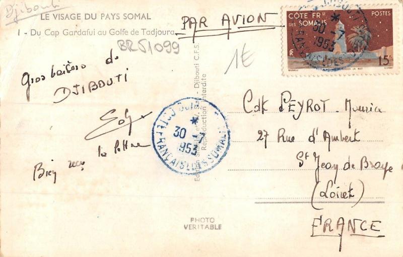 BR51099 Pays somal du cap gardafui au golfe de tadjoura Somalia