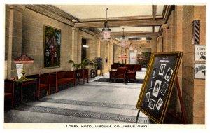 Ohio Columbus Lobby Hotel Virginia
