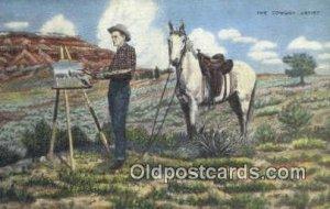 No. 40 Artist L.H. Larson Postcards Post Cards Old Vintage Antique unused