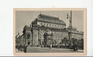B79345 narodni divadlo  praha prag  czech republic  front/back image