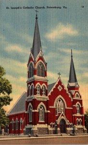 Virginia Petersburg St Joseph's Catholic Church