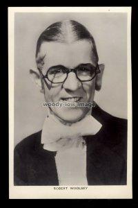 b1624 - Film Actor - Robert Woolsey - Picturegoer No. 514 - postcard