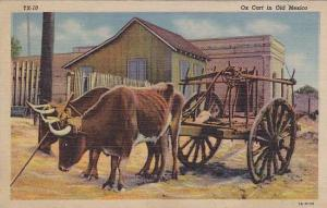 Ox Cart in Old Mexico, PU-1948