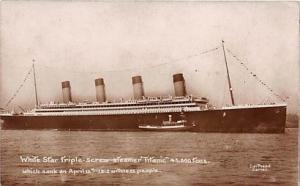 White Star Line Steamer Titanic Ship Ships Postcard Postcards Titanic Ship Po...