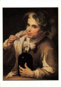 Art Postcard, A Young Man Drinking by Bartolome Esteban Murillo DH4