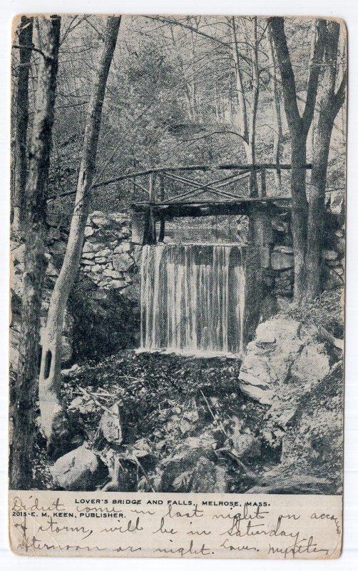 Melrose, Mass, Lover's Bridge and Falls