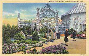 New York World's Fair 1939 Horticultural Exhibit Curteich