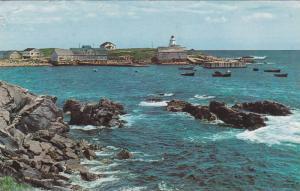 Neil's Harbor, Fishing Village, Cabot Trail, Cape Breton, Nova Scotia, Canada...