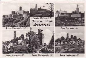 RP, Six Views, Der Romantische Taunus (Hesse), Germany, 1920-1940s