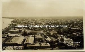 ecuador, GUAYAQUIL, Panorama (1935) RPPC