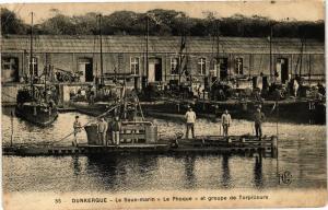 CPA DUNKERQUE - Le Sous Marin et grope de Torpilleurs (137280)