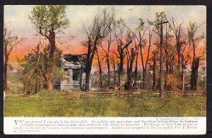 Springfield Fire & Marine of Massachusetts Ad Card - 1912
