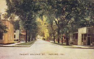 Illinois Moline Twenty Second Street