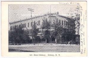 Hotel Sidney, Sidney NY