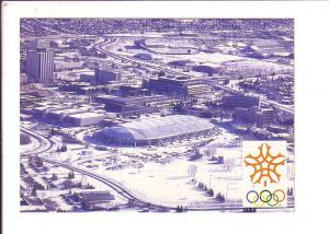 Oval with Snow, 1988 Calgary Olympic Winter Games, Alberta