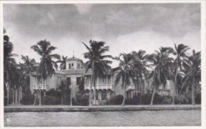 Florida Miami Colonel E H R Green Residence On Star Island