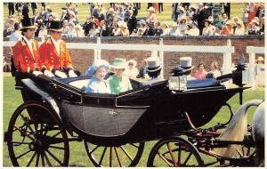 The Queen Mother with Princess Anne Carriage 1978