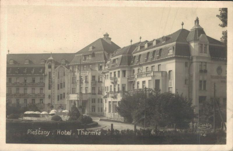 Czech Republic Piešťany Hotel Thermia 02.89