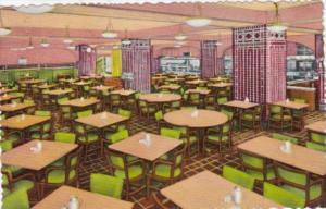 Illinois Chicago Y M C A Hotel Cafeteria Curteich