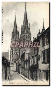 Old Postcard Bayeux Street of the Canons