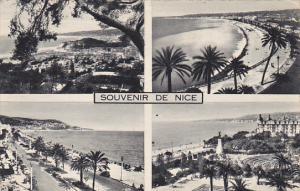France Nice Multi View 1950 Photo