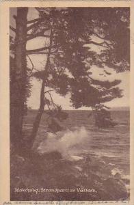 Jonkoping , Strandpartiav Vattern , Sweden , PU-1921