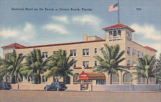 Florida Delray Beach Seacrest Hotel On The Beach At Delray Beach