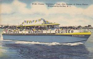 Cruiser Sightseer Captain Otto Stocker Ottens Harbor Wildwood By The Sea New ...
