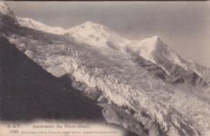 France Chamonix Ascension du Mont-Blanc