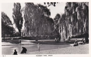 RP: EPSOM (Surrey) , England , 1930-40s ; Rosebery Park : TUCK