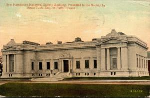 New Hampshire Concord New Hampshire Historical Society Building 1910
