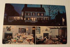 Vintage Postcard The Elms Inn Ridgefield Connecticut unposted   347