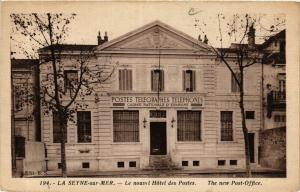 CPA LA SEYNE sur Mer-Le nouvel Hotel des Postes (410927)
