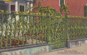 Louisiana New Orleans The Corn Fence 915 Royal Street