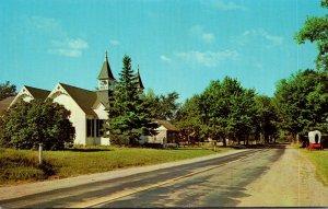 Michigan Huron City Hubbard Phelps Memorial Chappel