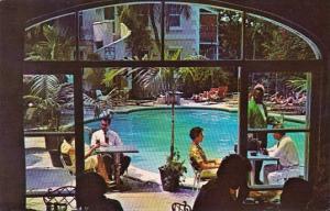 Bahamas Nassau Indoor-Outdoor Dining In The Gardens Royal Victoria Hotel