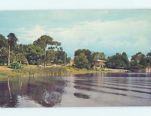 Pre-1980 LAKE SCENE Winter Haven - Near Lakeland & Lake Wales Florida FL F3291