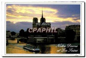Modern Postcard Paris La Cathedrale Notre Dame
