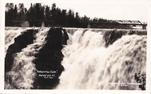 RP, KAKABEKA Water Falls , Ontario , Canada , Looking up , 20-40s