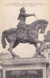 France Orleans Statue Jeanne d'Arc