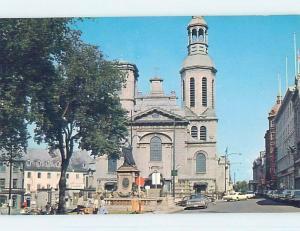 Unused Pre-1980 TOWN VIEW SCENE Quebec City QC p8684