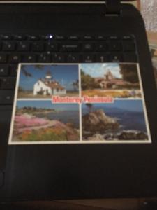 Vintage Postcard: Monterey Peninsula, CA  Multi View