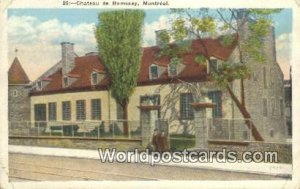 Chateau de Ramesay Montreal Canada 1928