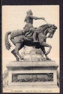 Statue de Jeanne darc,Orleans,France BIN