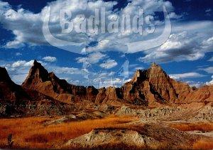 South Dakota Badlands National Park Vampire Peaks