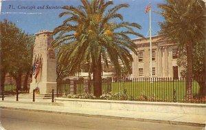 Cenotaph and Secretariat Bermuda Unused