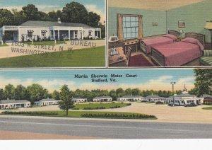 STATFORD , Virginia , 30-40s ; Martin Sherwin Motor Court