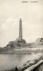 Italy - Genova. The Lighthouse